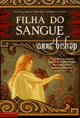 Portuguese cover: Daughter of the Blood